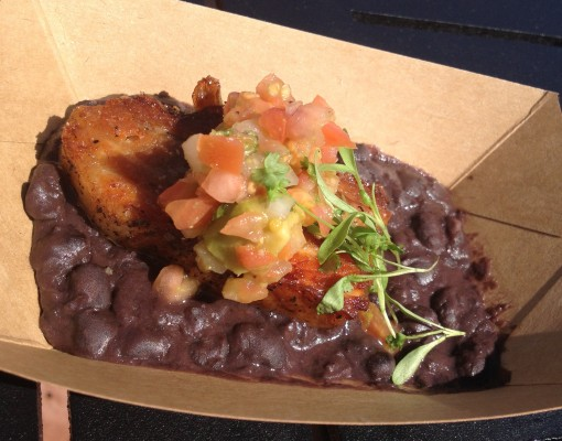 Crispy Pork Belly at Epcot's Food and Wine Festival