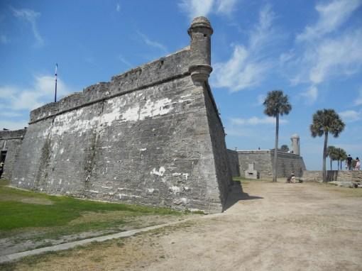 Castillo de San Marcos in St. Augustine, FL