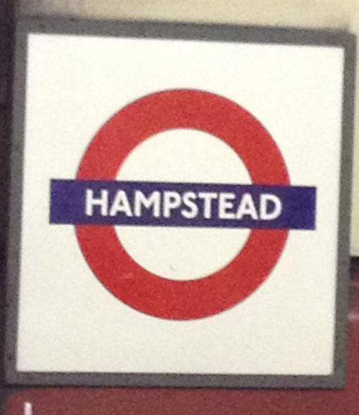 Hampstead tube station