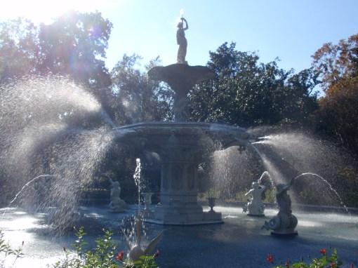 Forsythe Park in Savannah, GA