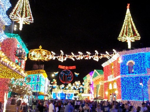 Osborne lights at Disney's Hollywood Studios
