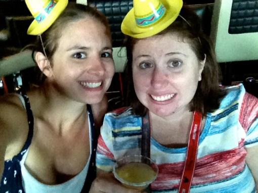 Disney wonder tequila tasting