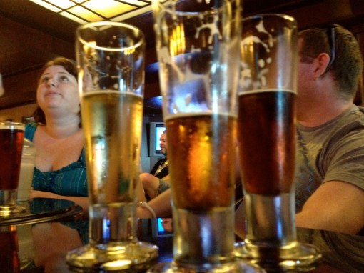 Disney Cruise line beer tasting
