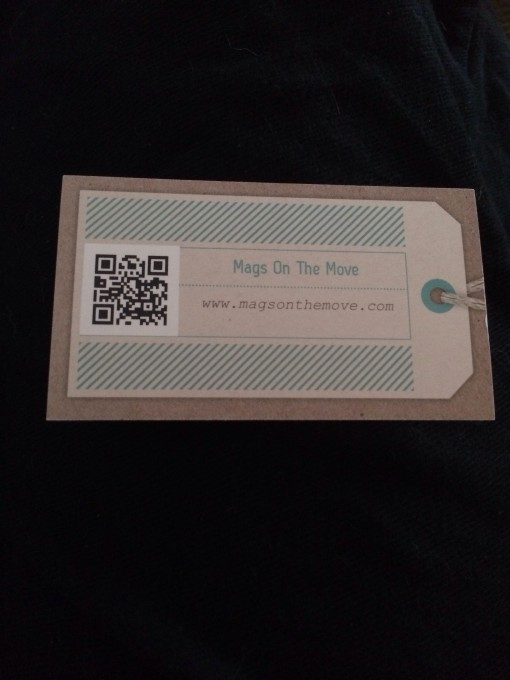 Mags on the Move Business Cards from Vistaprint