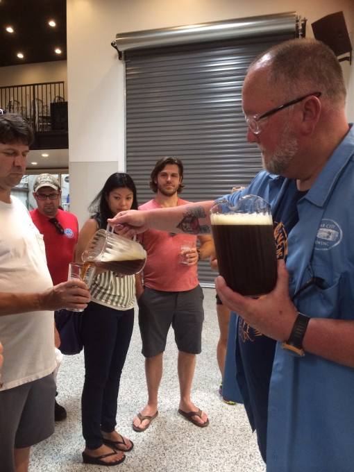 Cigar City Brewing Tour in Tampa, FL
