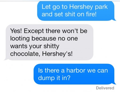 Take that Hershey's!