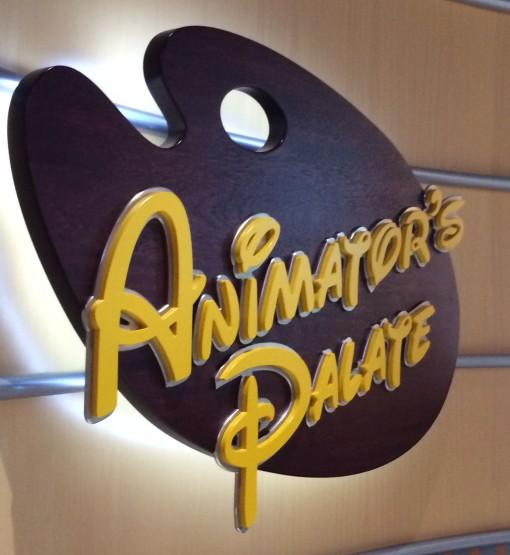 Animator's Palate on the DIsney Fantasy- Disney Cruise LInes