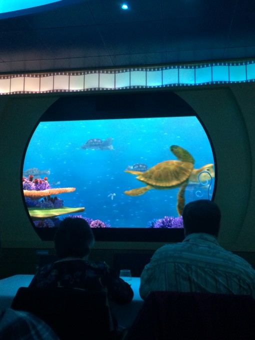 Animator's Palate on the Disney Fantasy- Disney Cruise Line