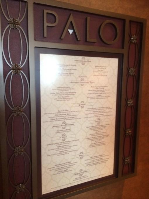Palo on the Disney Fantasy- Disney Cruise LInes
