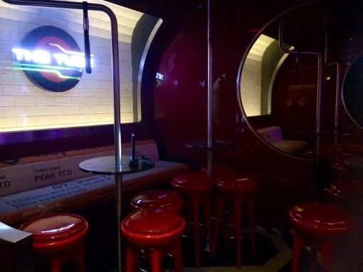 The Tube bar on the Disney Fantasy- Disney Cruise Line