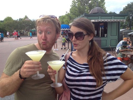 France- Drinking around the world at Epcot