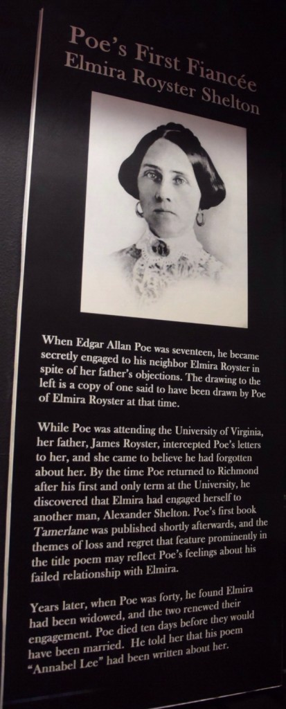 Edgar Allan Poe's Love Life at the Poe Museum in RIchmond, VA