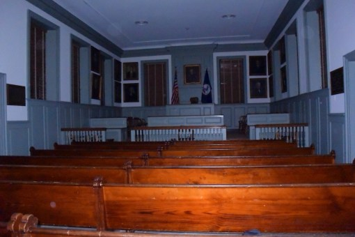 A paranormal investigation of the Hanover Courthouse in Hanover, VA