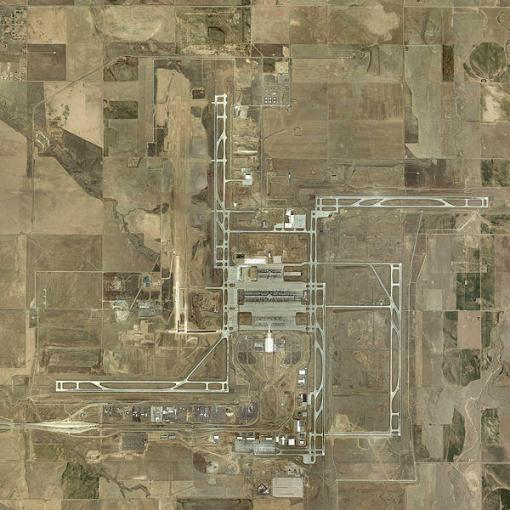 Denver Airport Runways.  Conspiracy or coincidence?