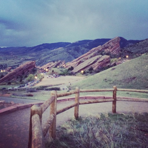 Red Rocks Ampitheatre in Denver, CO