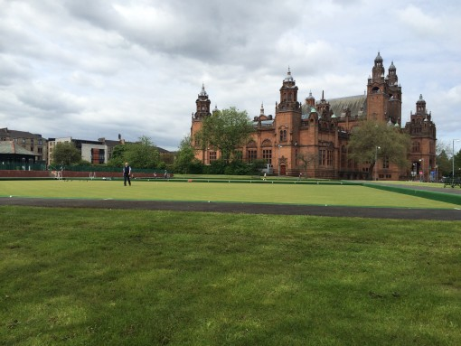 Kelvingrove Art Gallery and Museum in Glasgow, Scotland