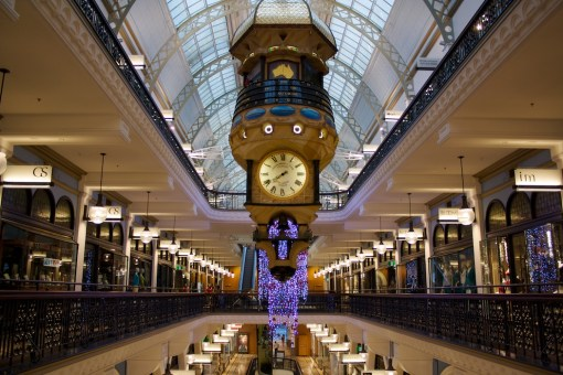 QVB clock (photo by Dan Terzian)