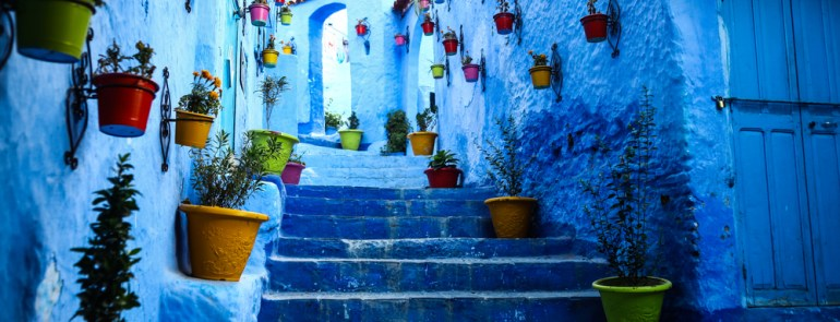5 Reasons to get out of Marrakesh- Chefchaouen City, Blue Amsterdam in Morocco