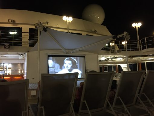 Casablanca- classic movie, mojito, and flan night aboard the Fathom Adonia