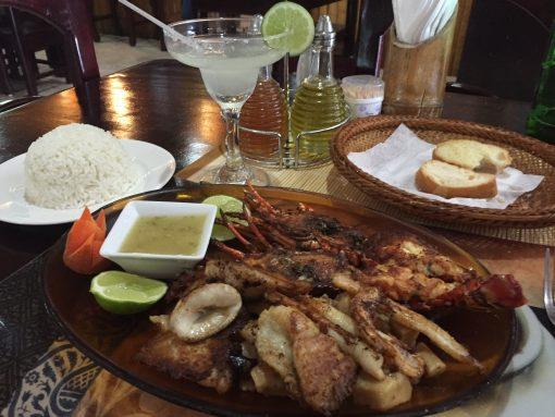 Amazing Seafood at Restaurant La Ponderosa del Mar in Puerto Plata, Dominican Republic
