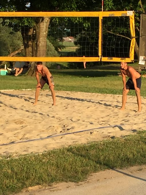 Beach Volleyball tournament at Big Berry Camp in Primostek, Slovenia