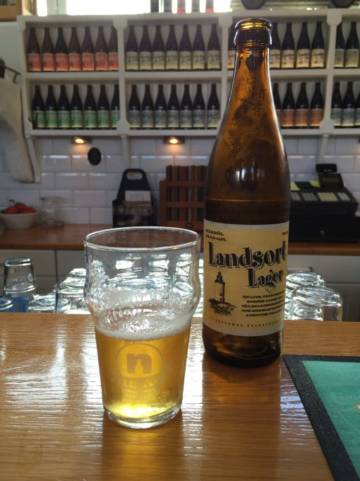 Landsort Lager at Ångbryggeri in Nynashamn, Sweden