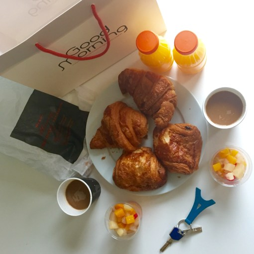 Rent your own Paris apartment at Villa Daubenton by Happy Culture and have lovely treats like these delivered to your door every morning.