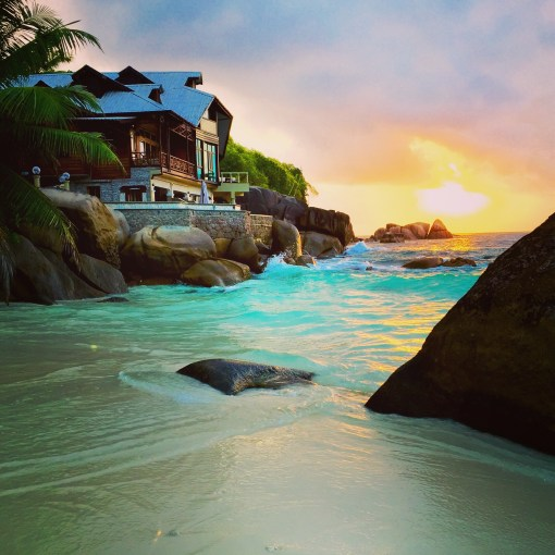 Mahe, Seychelles is an absolute paradise. Every view looks like a screensaver!