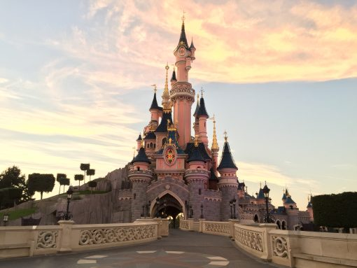 Disneyland Paris, perhaps the best castle in all of France?