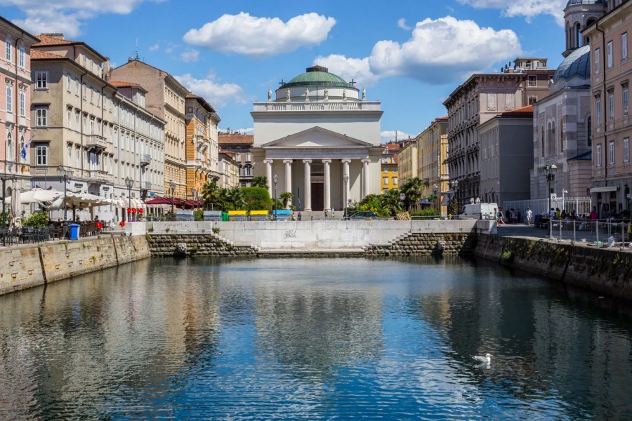 Canal Grande, Trieste's Famous Landmark