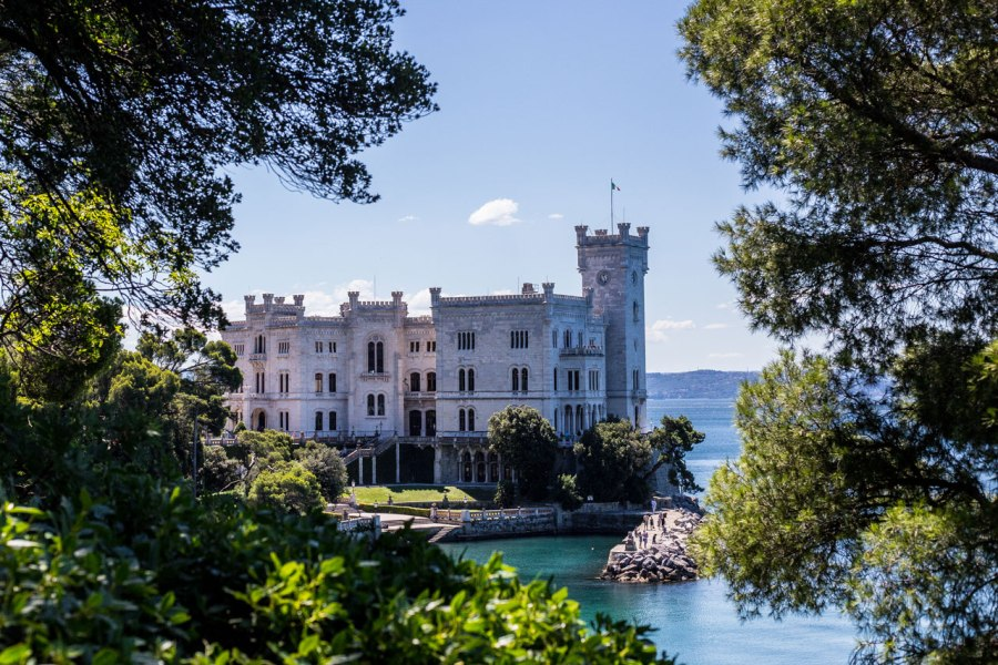Castello di Miramare, the Royal Residence of the Hapsburgs