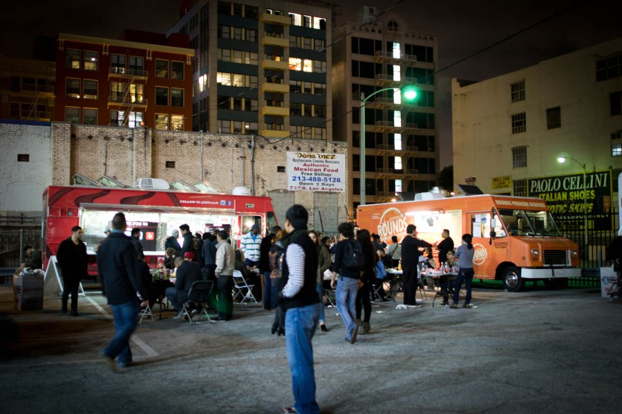Food Trucks at LA Art Walk