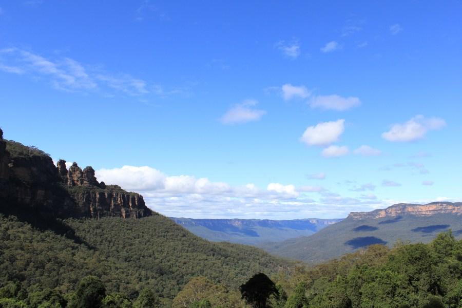 Blue Mountains outside of Sydney Australia