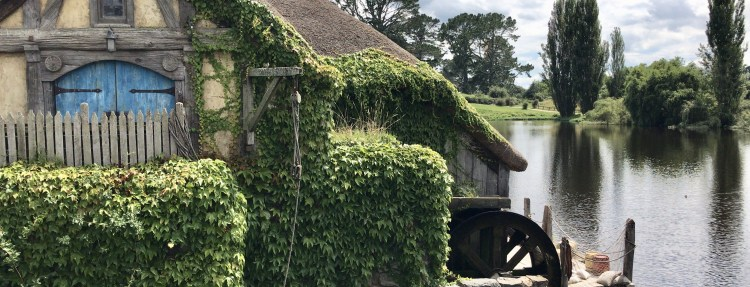 Visiting Hobbiton and Glowworms with Intercity New Zealand