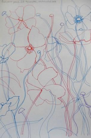 ~ ballpoint pens