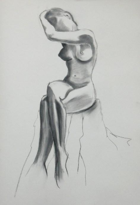 2. graphite stick, A2