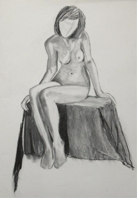 charcoal, A2