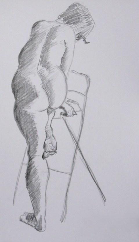 graphite stick, 10 minutes