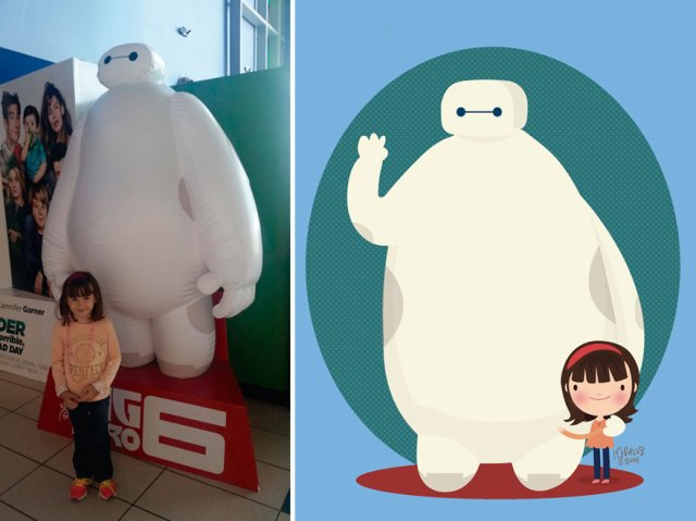 3-I-Take-Childrens-Photos-From-The-Internet-And-Turn-Them-Into-Playful-Illustrations-Part-217__880