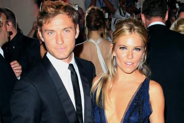 5.Sienna Miller ve Jude Law