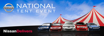 Windsor Nissan Tent Events