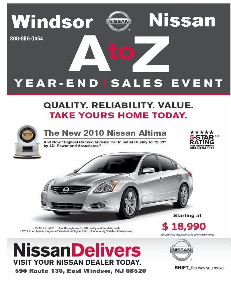 Nisan year end sales event