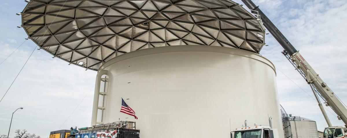 Geodesic Roof