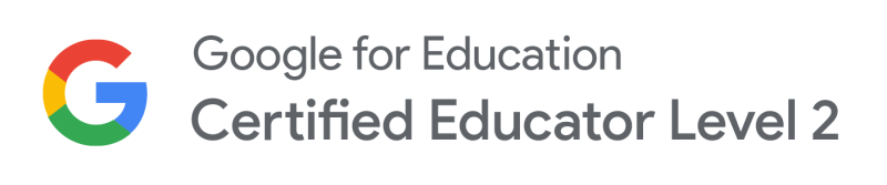 Badges Google Certified Educator Level 2