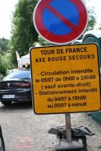 Genaue Hinweise für die Verkehrsteilnehmer