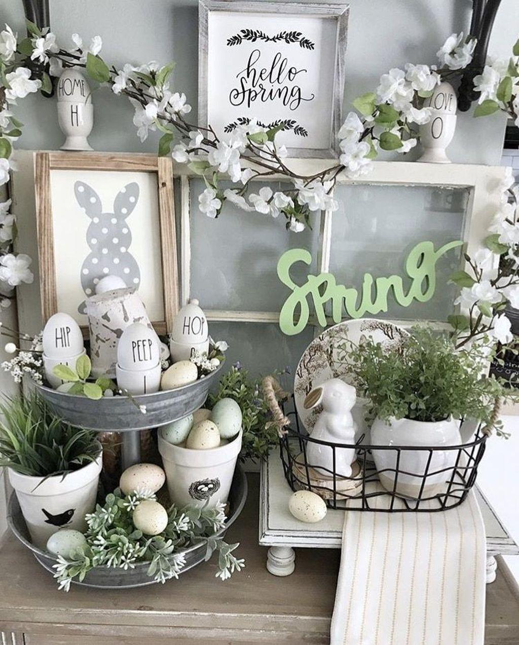 Beautiful Spring Home Decor Ideas 20