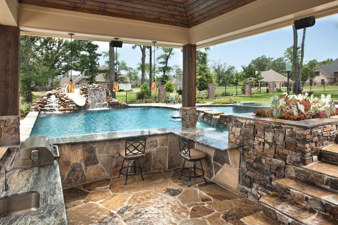 Gorgeous Summer Outdoor Pool Design Ideas 01