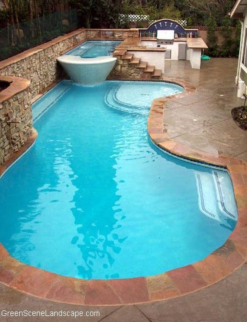 Gorgeous Summer Outdoor Pool Design Ideas 02