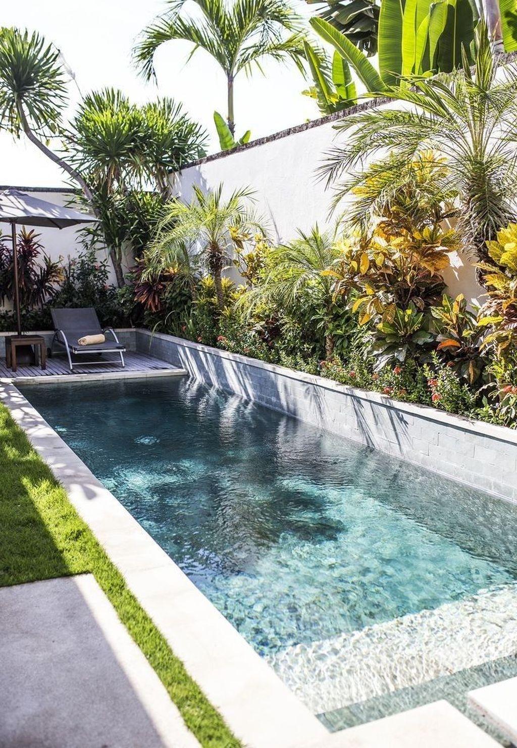 Gorgeous Summer Outdoor Pool Design Ideas 08