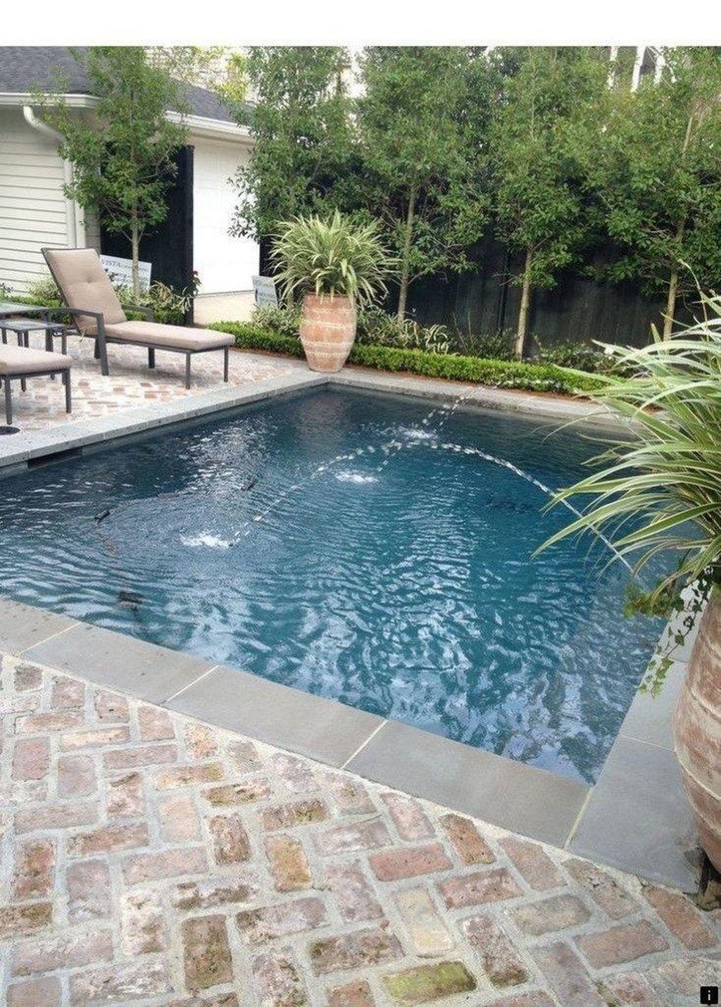 Gorgeous Summer Outdoor Pool Design Ideas 21